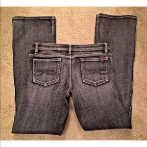 BUFFALO David Bitton Gray Denim Jeans Pink-X